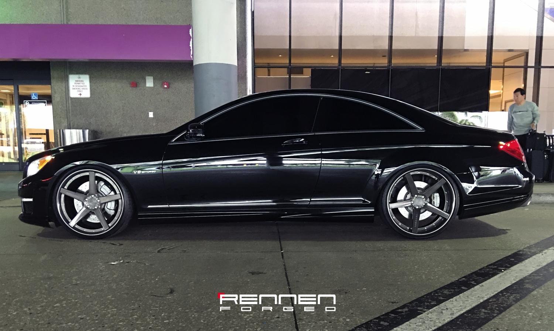 Re Chrome Rims >> CL63 on Rennen Forged Wheels R5 - Rennen International