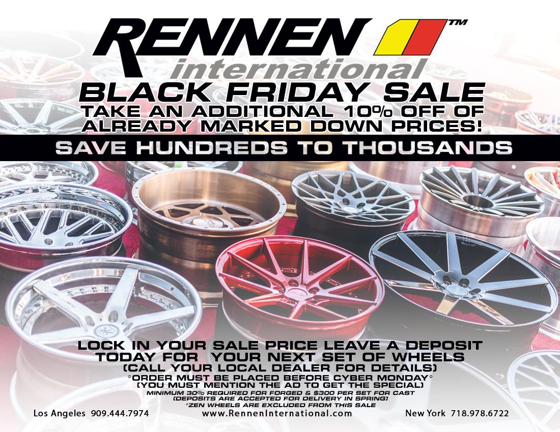 Rennen International Black Friday Deals Rennen International